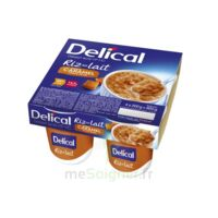 DELICAL RIZ AU LAIT Nutriment caramel pointe de sel 4Pots/200g à La Ricamarie