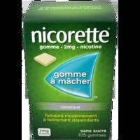 NICORETTE 2 mg Gom à mâcher médic sans sucre menthe fraîche Plq/105gom à La Ricamarie