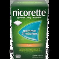 Nicorette 2 Mg Gomme à Mâcher Médicamenteuse Sans Sucre Fruits Plq/30 à La Ricamarie