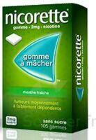 NICORETTE 2 mg Gom à mâcher médic sans sucre menthe fraîche Plq/30gom à La Ricamarie