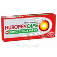 Nurofencaps 400 Mg Caps Molle Plq/10 à La Ricamarie