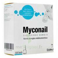 MYCONAIL 80 mg/g, vernis à ongles médicamenteux à La Ricamarie