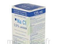 Sodium 0,9% Lav Inj Fv125ml 1 à La Ricamarie