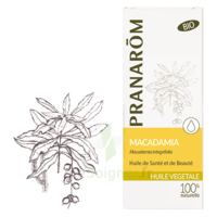 PRANAROM Huile végétale bio Macadamia 50ml à La Ricamarie