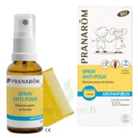 Pranarôm Aromapoux Bio Spray Anti-poux 30ml+peigne à La Ricamarie