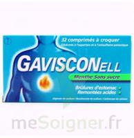 Gavisconell Coprimés à Croquer Sans Sucre Menthe édulcoré à L'aspartam Et à L'acésulfame Potas Plq/24 à La Ricamarie
