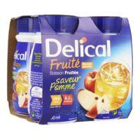 DELICAL BOISSON FRUITEE Nutriment pomme 4Bouteilles/200ml à La Ricamarie
