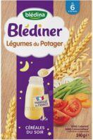 Blédîner Céréales Légumes du potager 240g à La Ricamarie