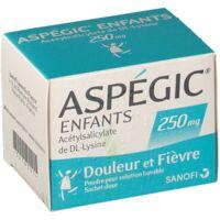 ASPEGIC ENFANTS 250, poudre pour solution buvable en sachet-dose à La Ricamarie