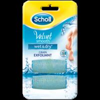 Scholl Velvet Smooth Wet&dry Rouleaux De Remplacement Grain Exfoliant à La Ricamarie