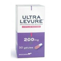 ULTRA-LEVURE 200 mg Gélules Fl/30 à La Ricamarie