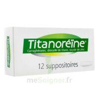 TITANOREINE Suppositoires B/12 à La Ricamarie
