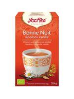 Yogi Tea Bonne Nuit Rooibos Vanille à La Ricamarie