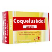 COQUELUSEDAL ADULTES, suppositoire à La Ricamarie