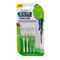 Gum Trav - Ler, 1,1 Mm, Manche Vert , Blister 4 à La Ricamarie