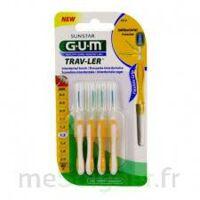 Gum Trav - Ler, 1,3 Mm, Manche Jaune , Blister 4 à La Ricamarie