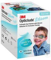Opticlude Design Boy Pansement Orthoptique Silicone Midi 5,3x7cm à La Ricamarie