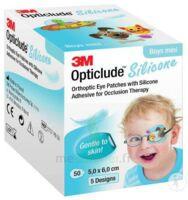 Opticlude Design Boy Pansement orthoptique silicone mini 5x6cm à La Ricamarie