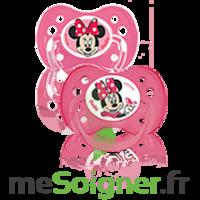 Dodie Disney Sucette anatomique silicone +6mois minnie Lot/2 à La Ricamarie