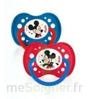 Dodie Disney sucettes silicone +18 mois Mickey Duo à La Ricamarie