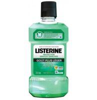 Listerine Protection Dents Gencives Bain Bouche Goût Plus Léger Fl/500ml à La Ricamarie