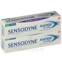 Sensodyne Rapide Pâte dentifrice dents sensibles 2*75ml à La Ricamarie