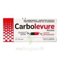 CARBOLEVURE Gélules adulte Plq/30 à La Ricamarie