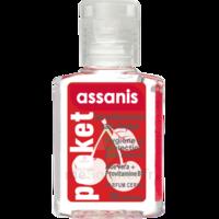 Assanis Pocket Parfumés Gel antibactérien mains cerise 20ml à La Ricamarie