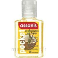 Assanis Pocket Parfumés Gel antibactérien mains Coco Vanille 20ml à La Ricamarie