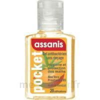 Assanis Pocket Parfumés Gel antibactérien mains Mangue 20ml à La Ricamarie
