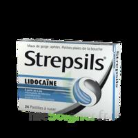Strepsils lidocaïne Pastilles Plq/24 à La Ricamarie
