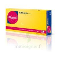 Oligosol Lithium Solution Buvable En Ampoule Ou En Récipient Unidose 28amp/2ml à La Ricamarie