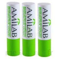 Amilab Baume labial réhydratant et calmant lot de 3 à La Ricamarie