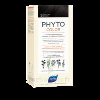 Phytocolor Kit Coloration Permanente 3 Châtain Foncé à La Ricamarie