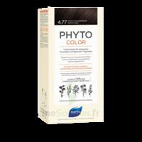 Phytocolor Kit Coloration Permanente 4.77 Châtain Marron Profond à La Ricamarie