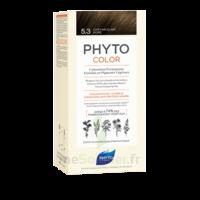 Phytocolor Kit Coloration Permanente 5.3 Châtain Clair Doré à La Ricamarie