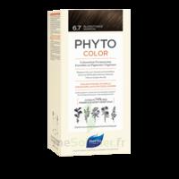 Phytocolor Kit Coloration Permanente 6.7 Blond Foncé Marron à La Ricamarie