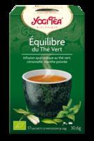 Yogi Tea ThÉ Équilibre Du ThÉ Vert Bio 17sach/1,8g à La Ricamarie