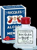 Ricqles 80° Alcool de menthe 30ml à La Ricamarie