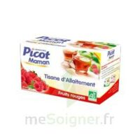 Picot Maman Tisane d'allaitement Fruits rouges 20 Sachets à La Ricamarie