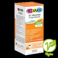Pédiakid 22 Vitamines Et Oligo-eléments Sirop Abricot Orange 125ml à La Ricamarie
