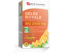 Forte Pharma Gelée royale bio 2000 mg Solution buvable 20 Ampoules/15ml à La Ricamarie