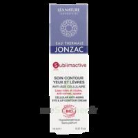 Acheter Jonzac Eau Thermale Sublimactive Crème soin contour yeux lèvres jeunesse immédiate 15ml à La Ricamarie