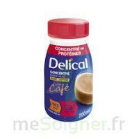 DELICAL BOISSON HP HC CONCENTREE Nutriment café 4Bouteilles/200ml à La Ricamarie