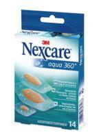 Nexcare Aqua 360° Pansements 3 tailles B/14 à La Ricamarie