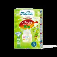Modilac Céréales Farine 4 Fruits quinoa bio à partir de 6 mois B/230g à La Ricamarie