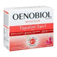 Oenobiol Topslim 3 en 1 Poudre à diluer Framboise Sticks/14 à La Ricamarie