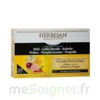 Herbesan Système Immunitaire 30 Ampoules à La Ricamarie