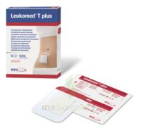 Leukomed T Plus Pansement adhésif stérile avec compresse transparent 8x10cm B/5 à La Ricamarie