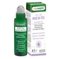 Olioseptil Huile essentielle maux de tête Roll-on/5ml à La Ricamarie